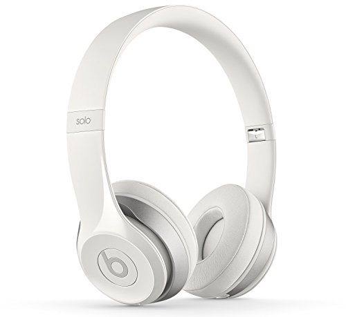 Beats by Dr. Dre Solo2 Casque Audio supra-auriculaires - Blanc Brillant