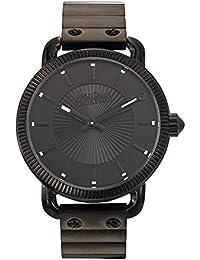 Reloj hombre–Jean Paul Gaultier–Index–acero PVD negro–45mm–8504402