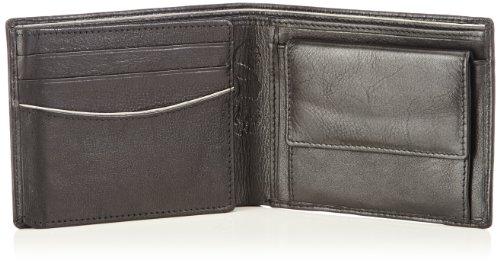 OTTO KERN Wallet Horizontal Ow-4 Herren Geldbörsen 24X9X1 cm (B X H X T) Mehrfarbig (Schwarz/grau)