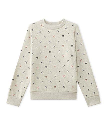Petit Bateau Jungen Sweatshirt Sweat Sht, Mehrfarbig (Montelimar/Multico 62), 128 (Herstellergröße: 8ans/128cm) (Petite Jumper)