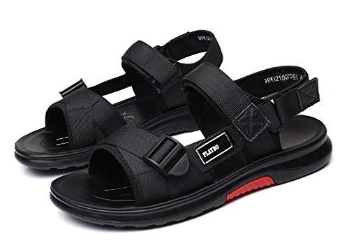 c5e33147ee992 LIANGXIE Respirant Antidérapant Sandales pour Hommes/Velcro Sandales de  randonnée/Sandales de Sport et de Plein air pour Homme Polyuréthane Lent ...