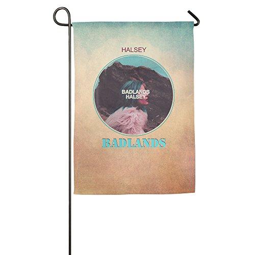 duola Badlands Poster Dekorative Garten Flagge Bar Banner, weiß