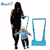 #2: DearJoy Baby Safety Harness Belt Walking Assistant, Adjustable Shoulder & Chest Support Walker (Blue)