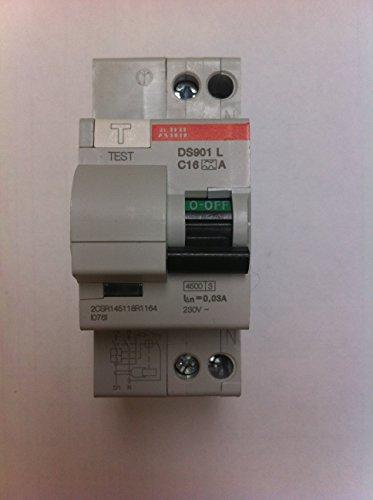 ABB ds901l C16MA A interruptores.differ.KA 1P + N