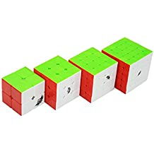 Wings of Wind - Cyclone Boy Magic Cube Ultra-Smooth Magia Puzzle Cube Colorized Stickerless Cube (2x2+3x3+4x4+5x5)