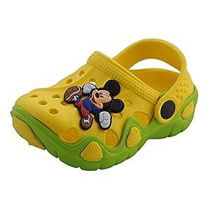 Pollo Kids Yellow Clogs