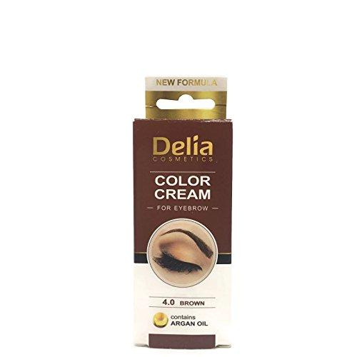 Ciglia e sopracciglia colorazione professionale, colore nero/ marrone/marrone scuro 15ml (marrone)