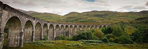 Postereck - 0486 - Brücke Glenfinnan Viadukt, Schottland - Poster Panorama 1:3 - 61.0 cm x 20.0 cm
