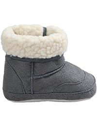 Zapatos de bebé Auxma Botas para la Nieve Suave de la suavidad del bebé Zapatos Suaves del Pesebre Botas del niño para 0-6 6-12 12-18 Mes