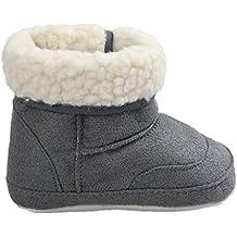 Zapatos de bebé Auxma Botas para la Nieve Suave de la suavidad del bebé Zapatos Suaves