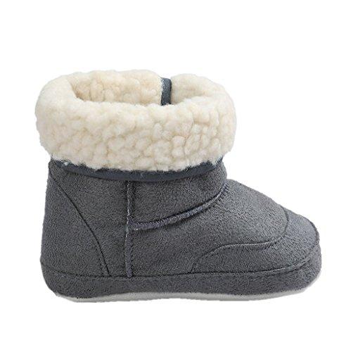 Zapatos de bebé Auxma Botas para la Nieve Suave de la suavidad...