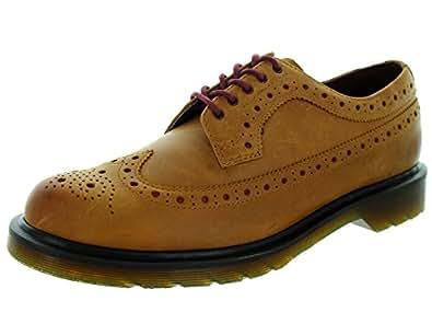 Dr. Martens  3990 Miraggio Burnished Shale, Chaussures à lacets homme - Marron - Argile, 6 UK / 39 EU