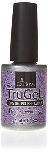 EZFLOW Trugel Nail Gel Divine decadence, 1er Pack (1 x 15 ml)