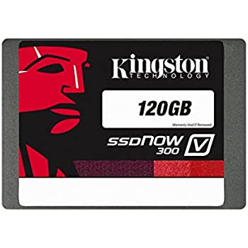 "Kingston SSDNowV300 Unità a Stato Solido Interno, 120 GB, 2,5"", SATA 3.0"