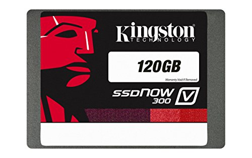 Kingston SSDNow V300 - Disco duro interno con capacidad de 120 GB (2,5 pulgadas, SATA 3.0)