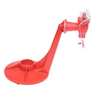 TOOGOO(R) Partei Trinken Soda Dispense Gadget Kuehle Fizzretterzufuhr Wasserwerkzeugmaschinen Rot