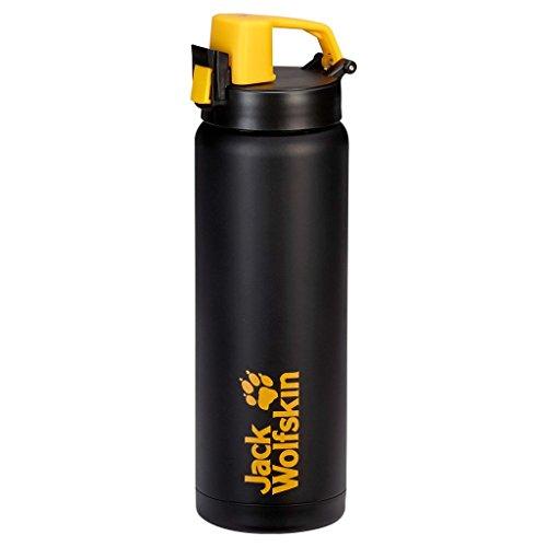 Jack Wolfskin Trinkflasche Thermo Sport Bottle Grip Black 24,3 x 8 cm,  0.5 Liter, 8001391 Preisvergleich