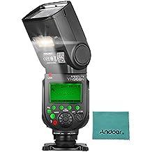 YONGNUO YN968N Wireless TTL Flash Speedlite 1/8000s HSS Equipped with Built-in LED Light 5600K for Nikon DSLR Cameras Compatible with YN622N YN560 Wireless System