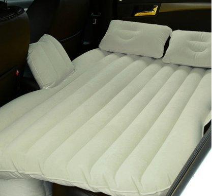 Matelas gonflable d'air de voiture de confort, lit de voiture, lit d'air arrière de voiture SUV, lit d'air de wagon de station, matelas de sommeil ( Couleur : Blanc )