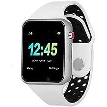 Bluetooth Relojes inteligentes Teléfono, pantalla táctil Seguimiento de actividad, Monitoreo del sueño, Duración