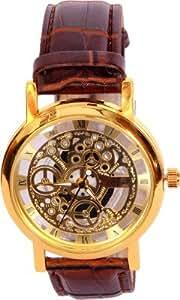 MVS Analogue Gold Dial Men's Watch -MVSA0270
