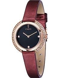 Fjord Analog Black Dial Women's Watch - FJ-6026-07