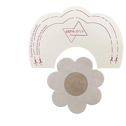 SHINEstyle 10 x Breast Petals Nippleless Cover & 10 x Bra Lift Tape