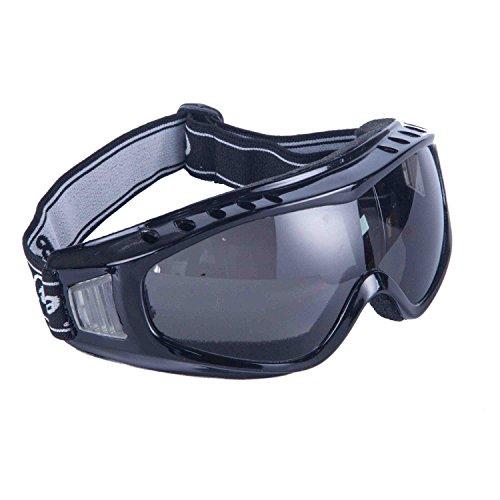 Babimax Schutzbrille Seitenschutz Arbeitsschutz Vollsichtbrille verstellbare Kopfbänder beschlagfrei anti-Staub anti-Schock spritzenhemmend Polycarbonat Labor Radfahren (Radfahren Schocks)