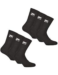 Fila 6 Paar Calcetines Unisex - Rizo Calcetines de Tenis, Crew Calcetines, 35-