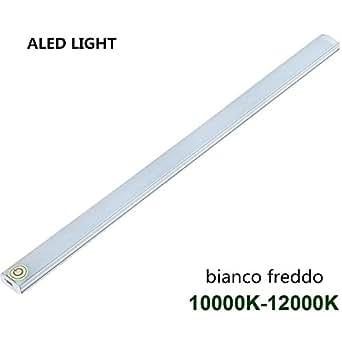 ALED LIGHT® USB LED Light Touch Interruttore Luminosità Regolabile per l'armadio da Cucina Stair. (1 pack bianco freddo)