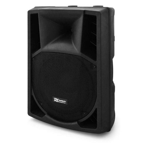 Power Dynamics Sonido Profesional Altavoz autoamplificado DJ DJ 38cm (15