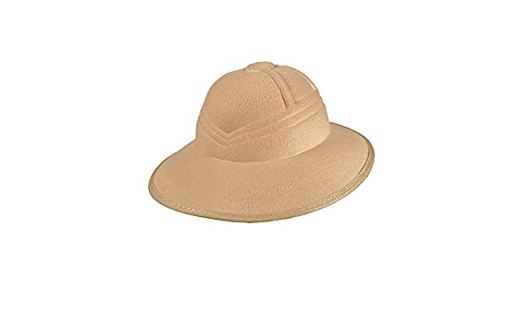 a64ac909 Wicked Costumes Adult Unisex Beige Safari Jungle Hat: Amazon.co.uk: Toys &  Games