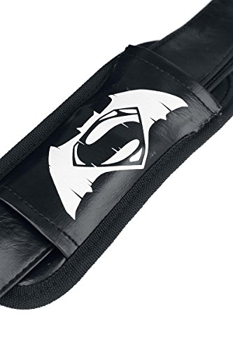 V ufficiale di Batman Superman Dawn di giustizia film Black Shoulder Messenger Bag nero