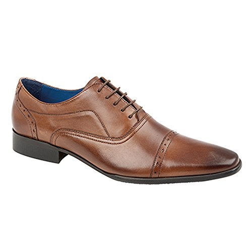 Route 21 - Scarpe eleganti Oxford - Uomo Marrone