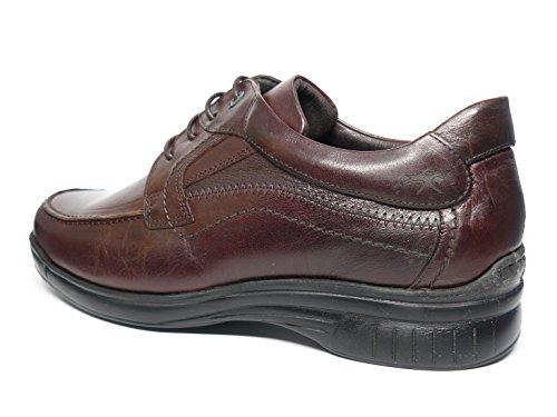 Fluchos , Chaussures de ville à lacets pour homme Noisette