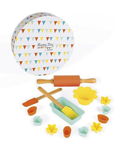 Janod-J06583 Set de pastelería Happy Day