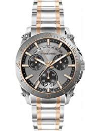 Pierre Petit Herren-Armbanduhr XL Le Mans Chronograph Quarz Edelstahl P-792D