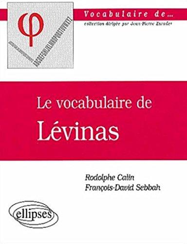 le-vocabulaire-de-levinas