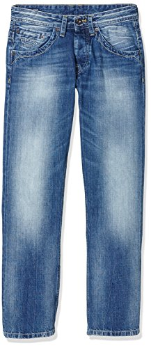Pepe Jeans Jeanius - Jeans - Relaxed - Homme Bleu (Denim 000-PM200016W532)