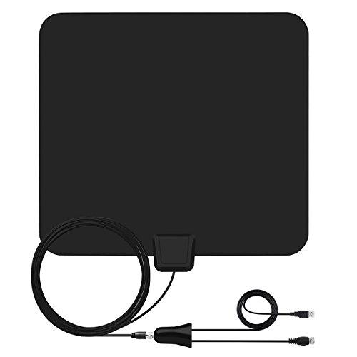 HDTV-Antenne - Digital HD TV Antenne, 85 km Reichweite, kompatibel mit 4K 1080P 80 Mile Back B