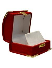 Cofre del tesoro caja de terciopelo estilo pendiente