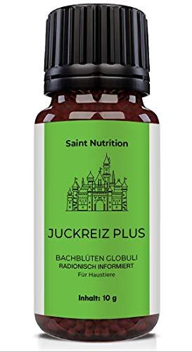 Saint Nutrition Juckreiz Plus   Pflanzliches mittel gegen Juckreiz   Anti Juckreiz Katze   Milben bekämpfen beim Hund   Haumittel bei Milben   Radionisch Informiert   Bachblüten   10g