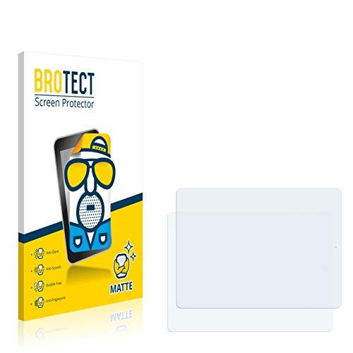 BROTECT Entspiegelungs-Schutzfolie kompatibel mit Blaupunkt Endeavour 1000 QC (2 Stück) - Anti-Reflex, Matt