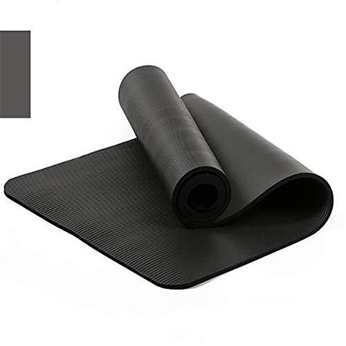 HW Esterilla Antideslizante para Yoga/Gruesa/de Alta Densidad/Multiusos- para Pilates-Gimnasia/Camping-Estiramientos -Fitness-183 * 61cm- Espesor 6mm