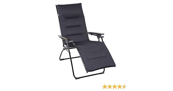 Amazon.de: Lafuma Relaxliege Air Comfort Evolution Acier / Stahlblau ...
