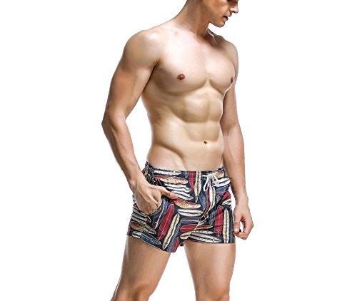Pantaloncini da uomo Hippolo casual Pants lovers Beach Loose ad asciugatura rapida 4 S 1