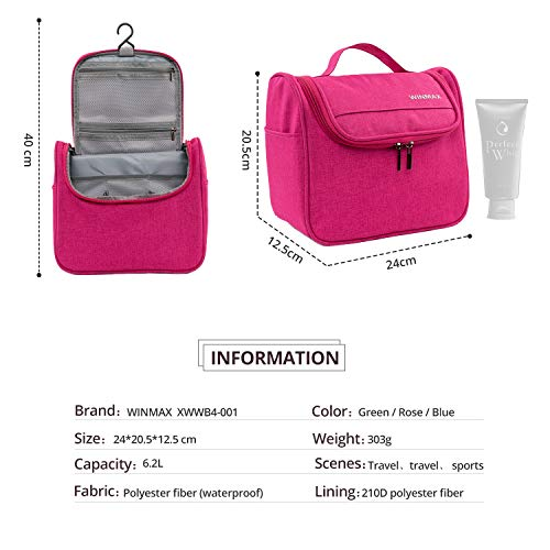 Zoom IMG-3 winmax beauty case rosa fr