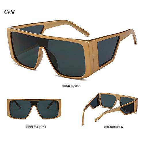 YLNJYJ Platz Frauen Sonnenbrille Multi Lens Punk Windschutz Outdoor Sonnenbrille Männer Vintage Fashion Brillen Lady Shades Oculos
