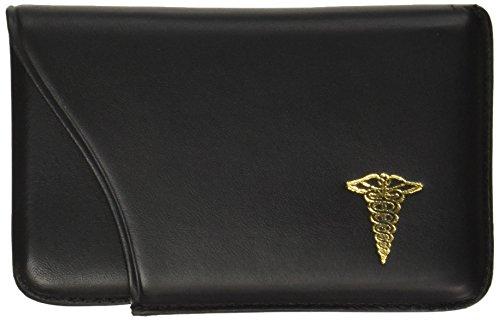 budd-leather-company-slide-out-custodia-per-biglietti-con-medical-logo-black