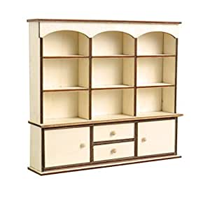 ... Artemio 14001610 Wooden Mini Furniture Showcase 18cmx 16cmx 3.5Cm